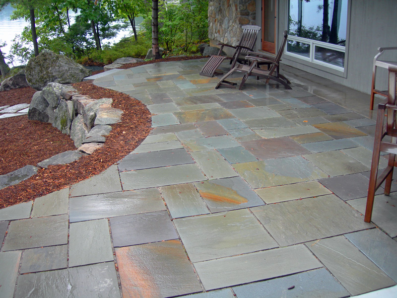 Attractive Moultonborough Patio Stone