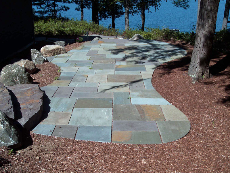 Stone Patio Designers Contractors & Builders in NH MA