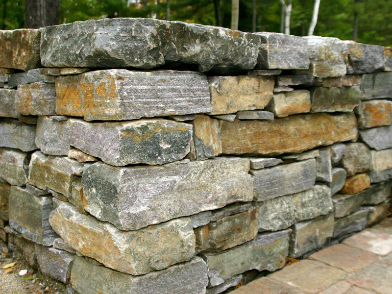 Stone Wall Construction : Stone wall construction photos and door