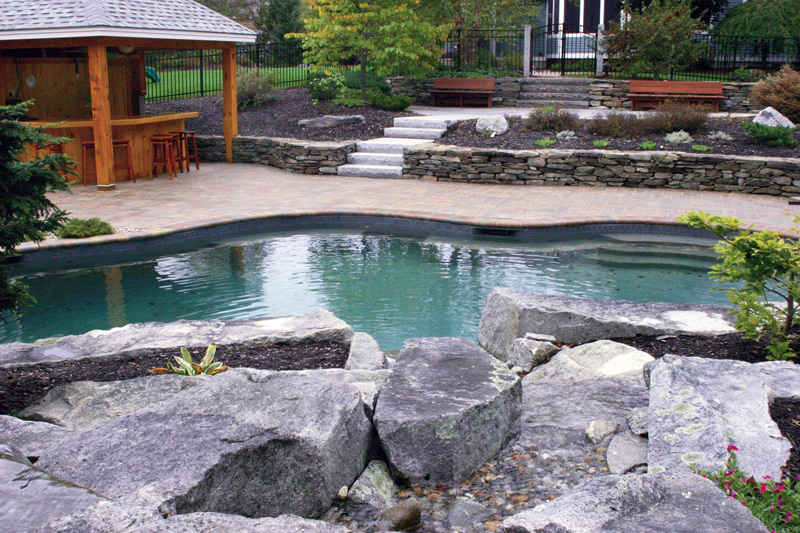 Pool Designers backyard designers dominated materials inside can add the beauty inside the modern house design ideas that Portfolioconcord Nh Pool Design