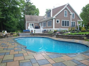 Superbe Pool Deck Norwell Mass