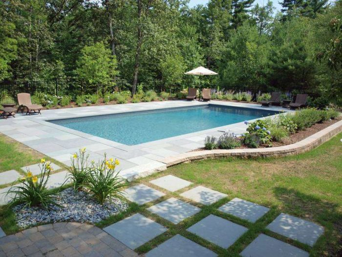 Pool Design in Bedford NH | Terrain Planning & Design
