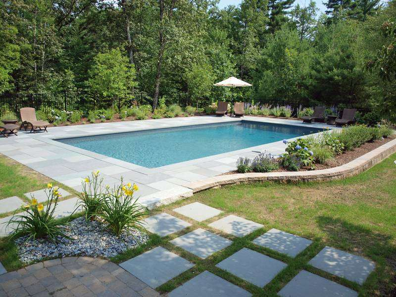 Concord NH Pool Design - NH Landscape Architects