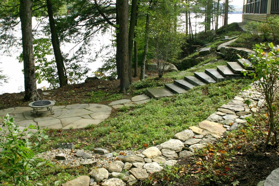 Lakefront Landscape Designs Nh Landscape Architects